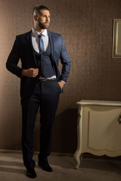 blue slim fit suit additional waistcoat .jpg