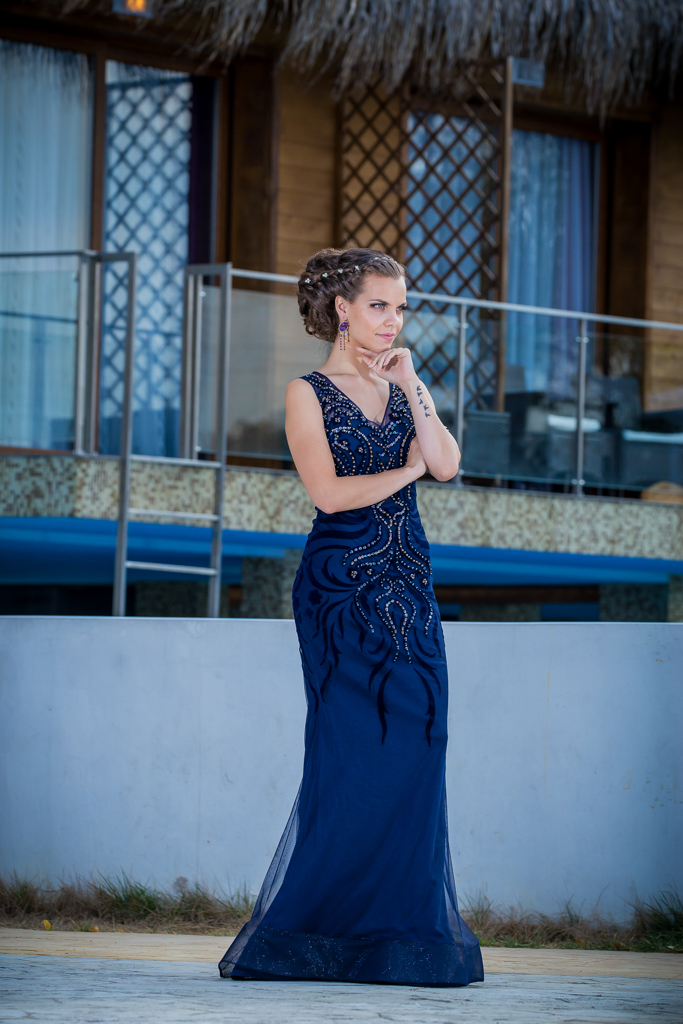 рокля Ариел лице