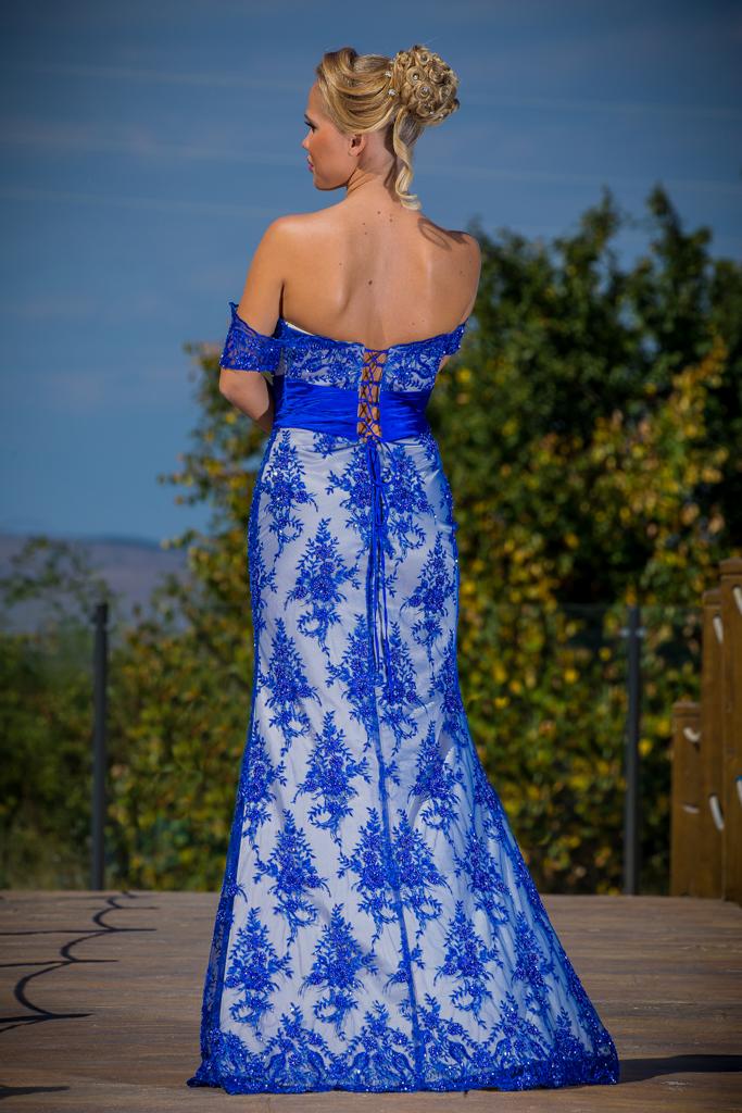 рокля Весела гръб
