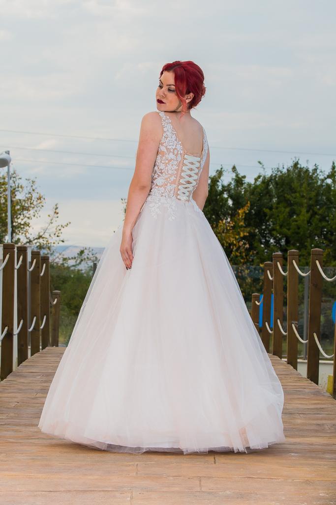 рокля Кристина гръб