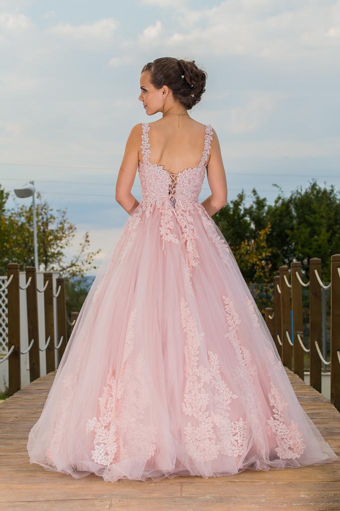 рокля Биляна гръб