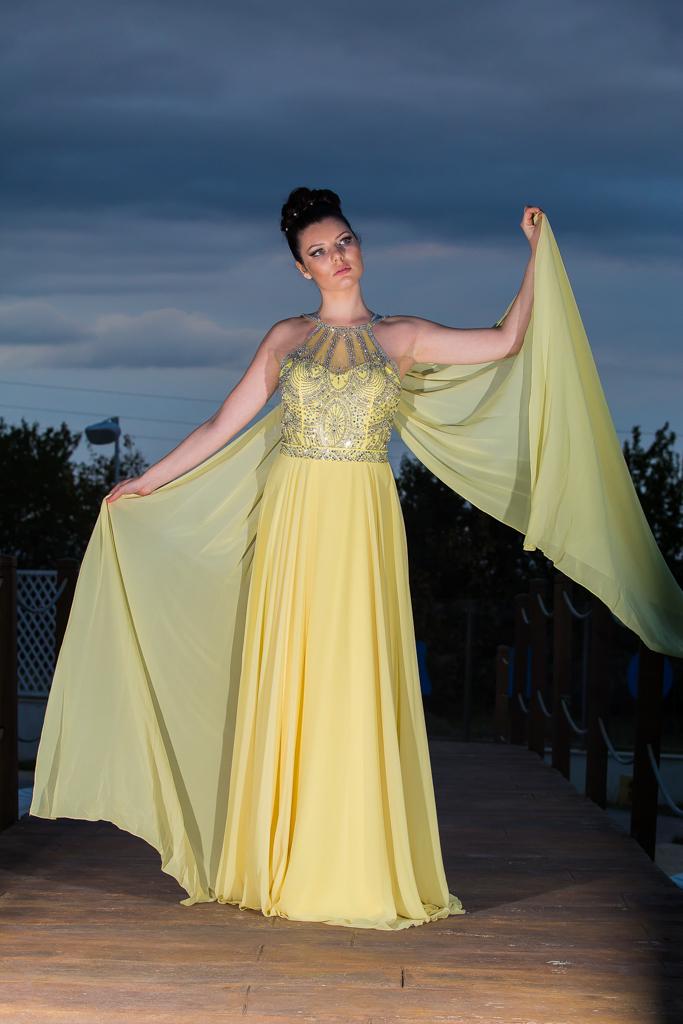 рокля Косара лице