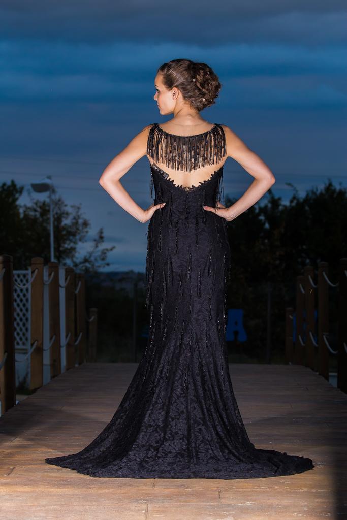 рокля Милена гръб