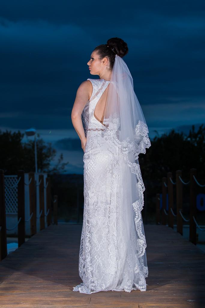 Булченска рокля Виолета гръб