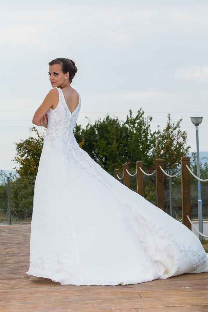 рокля Луиза гръб