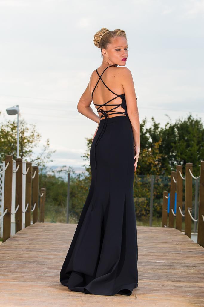 рокля Прентис гръб