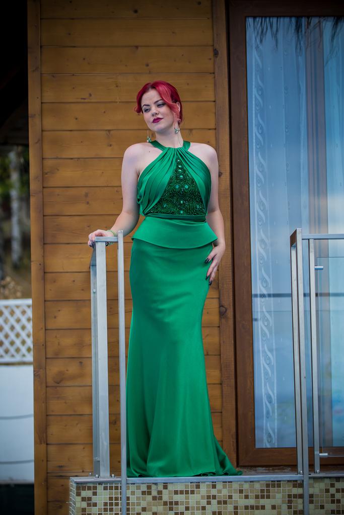 рокля Елън лице