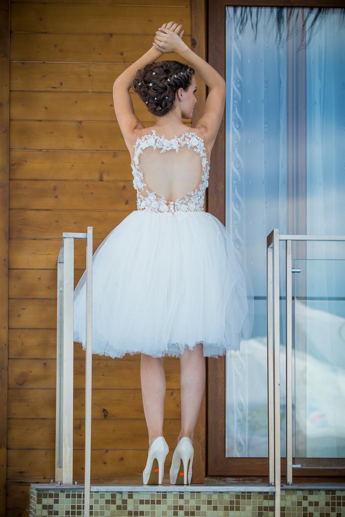 рокля Кети гръб