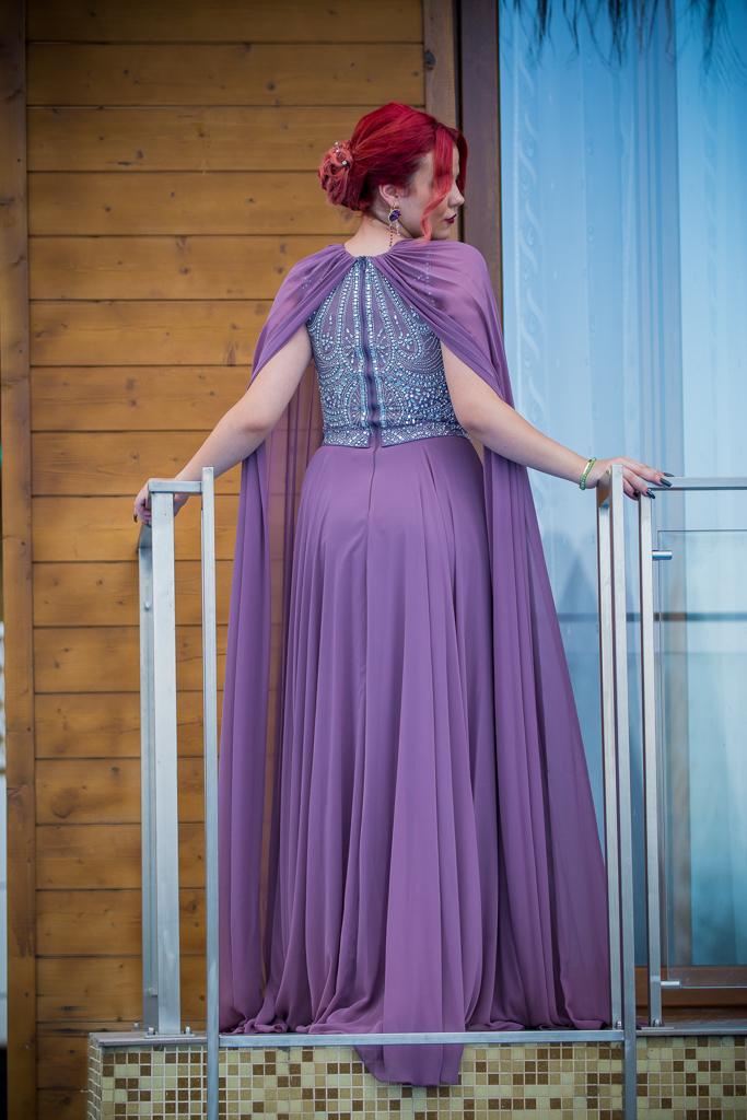 рокля Реджина гръб