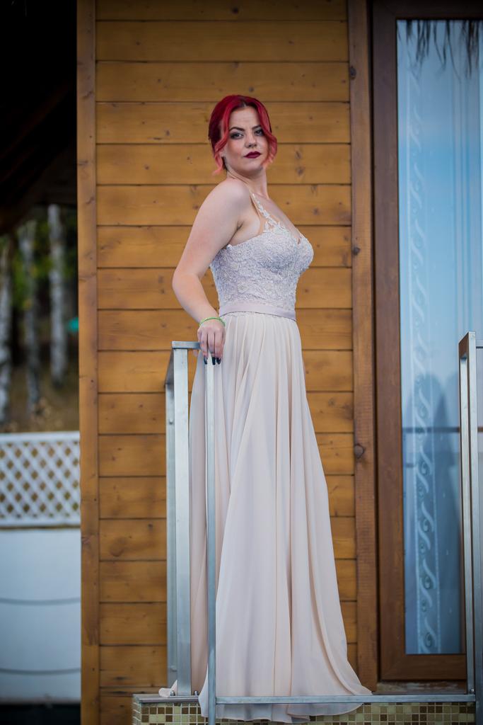 рокля Лилия лице