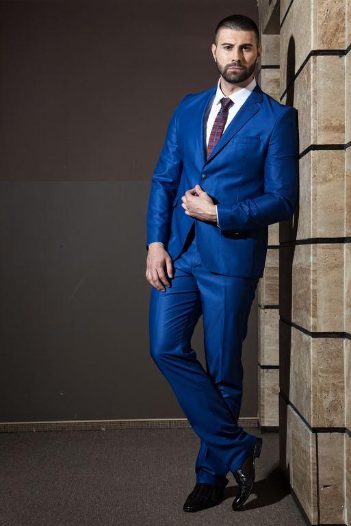 втален официален мъжки костюм  втален официален мъжки костюм  bright blue slim fit suit 3.jpg