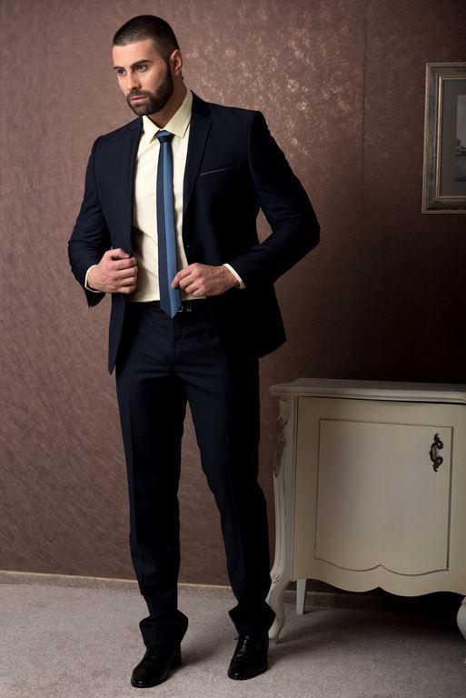 втален официален мъжки костюм  втален официален мъжки костюм  navy blue sim fit suit 1.jpg